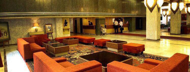 لابی هتل آسیا مشهد