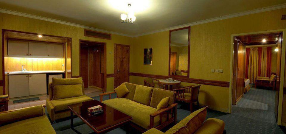 سوییت های هتل آسیا در مشهد