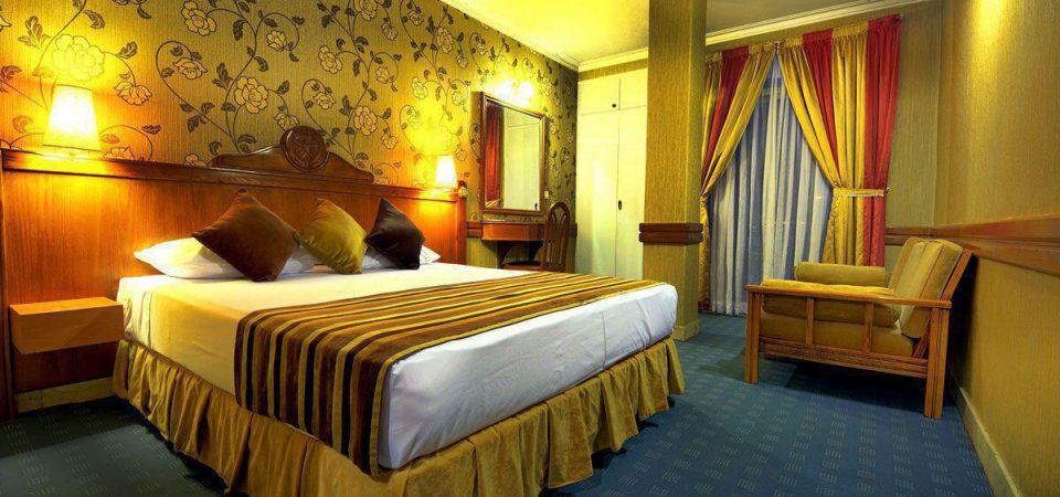 اتاق هتل آسیا مشهد الرضا